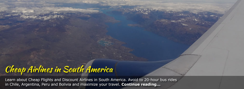 Cheap Airlines in South America