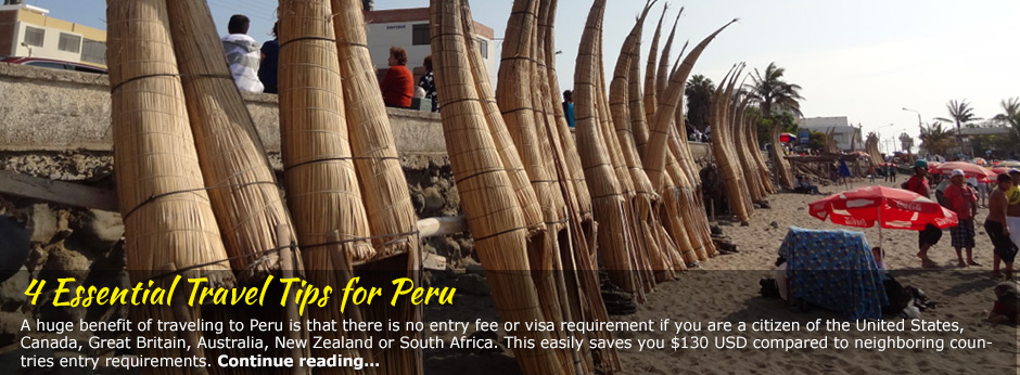 4 Essential Travel Tips for Peru